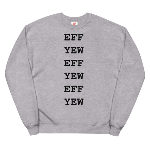 EFF YEW crew pullover