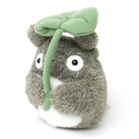 Totoro Holding Leaf (Small)