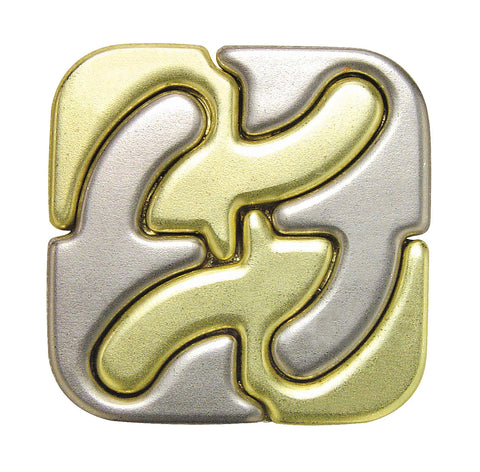 Hanayama Cast Puzzle - Level 6 - Square