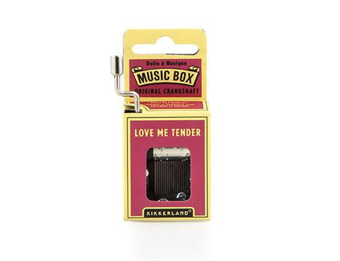 Love Me Tender Music Box