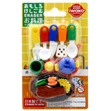 Iwako Erasers (Blister Pack) Kitchenware