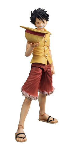 MegaHouse One Piece Monkey D. Luffy - Past Blue (Ver. Yellow)Variable Action Hero