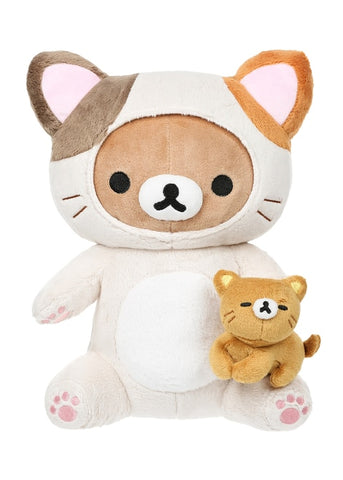 Rilakkuma Cat Playing With Kitty