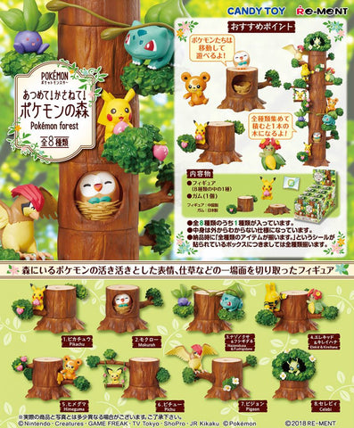 Re-Ment Pokemon Forest