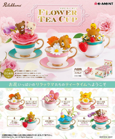 Re-Ment Flower Tea Cup