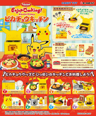 Re-Ment Pokemon Pikachu Kitchen