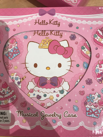 Hello Kitty musical Jewelry Case