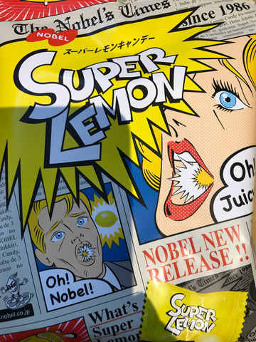 Nobel Super Lemon Candy