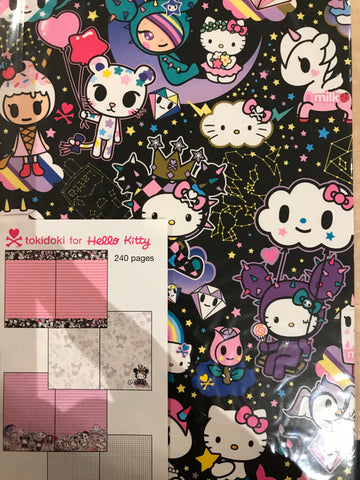 Hello Kitty X TokiDoki Journal
