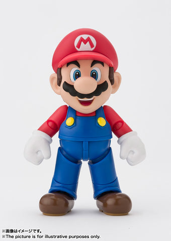 S.H. Figuarts - Super Mario (New Package Ver.)