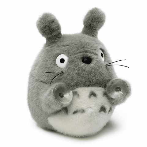 Totoro Plush With Suction Cup