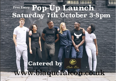 Blaque Falcon Pop-Up