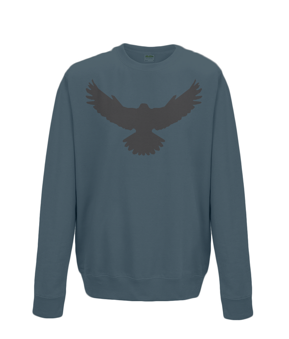 Falcon Sweatshirt Printed Black
