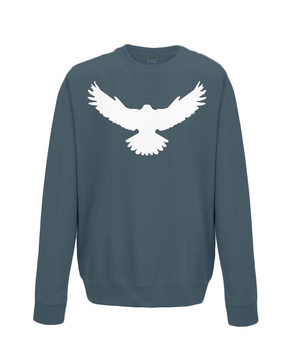 Falcon Sweatshirt Printed White