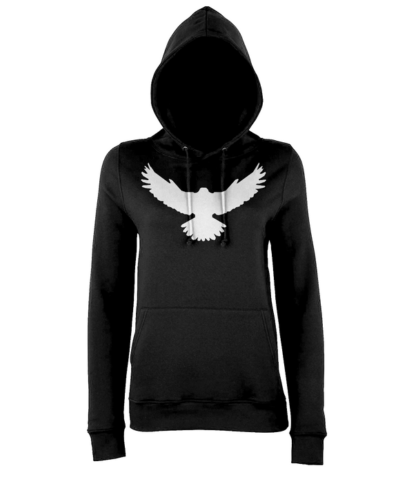 Ladies Falcon Hoodie Printed White