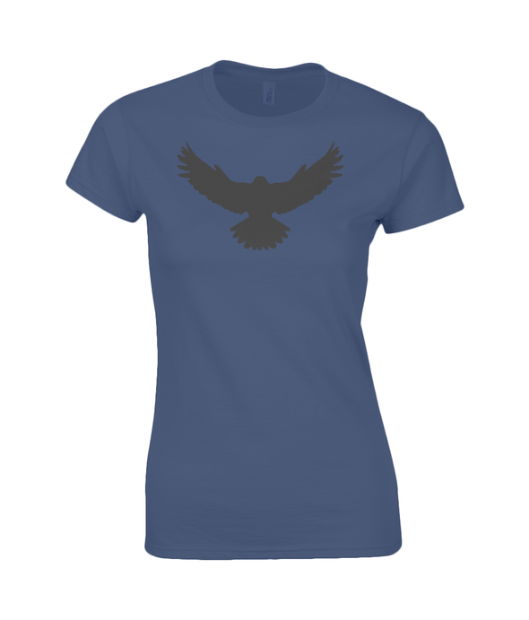 Ladies Falcon T-Shirt Printed Black