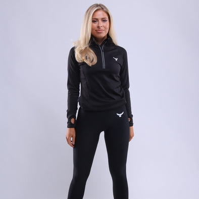 Ladies Falcon 1/2 Zip Top