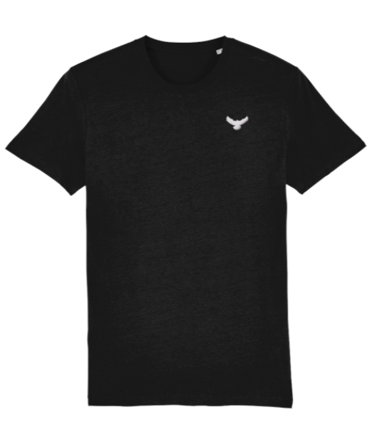 Mens Falcon Embroidered T-Shirt