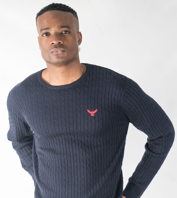 Falcon Knitted Sweatshirt