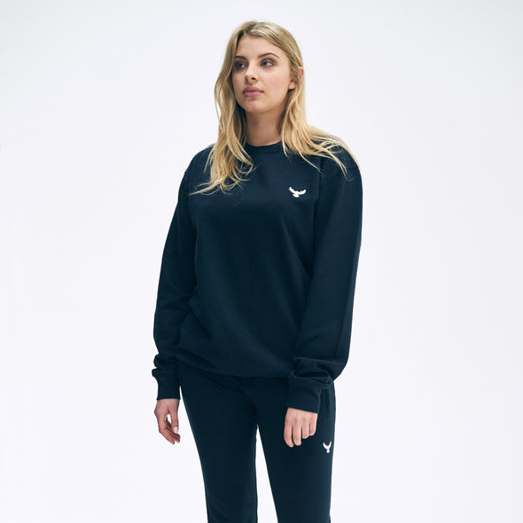 Falcon Embroidered Sweatshirt