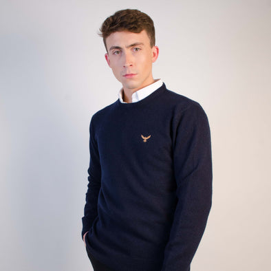 Mens Falcon Wool Sweatshirt