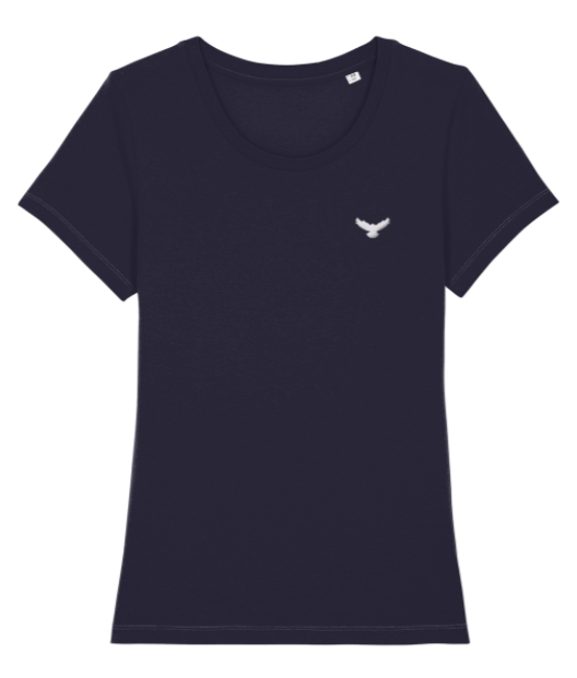 Ladies Falcon Embroidered T-Shirt