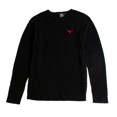 Unisex Falcon Knitted Sweatshirt