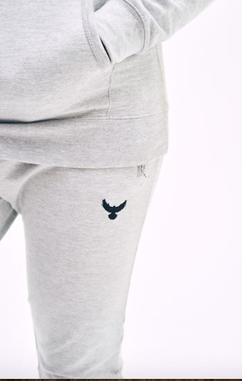 Ladies Falcon Jogging Bottoms Embroidered