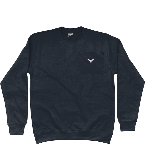 Falcon Childrens Embroidered Sweatshirt