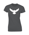 Ladies Falcon T-Shirt Printed White