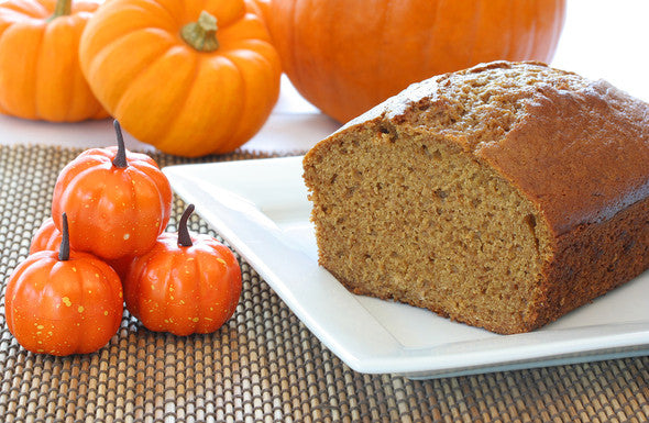 October Pumpkin Bread