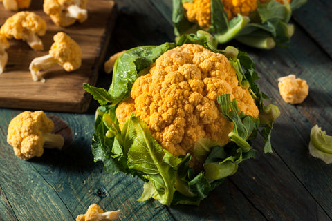 Cheddar Hybrid (Orange) Cauliflower Seeds