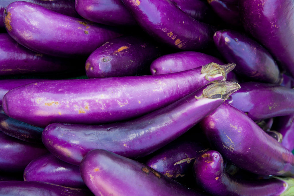 Long Purple Italian Eggplant Seeds