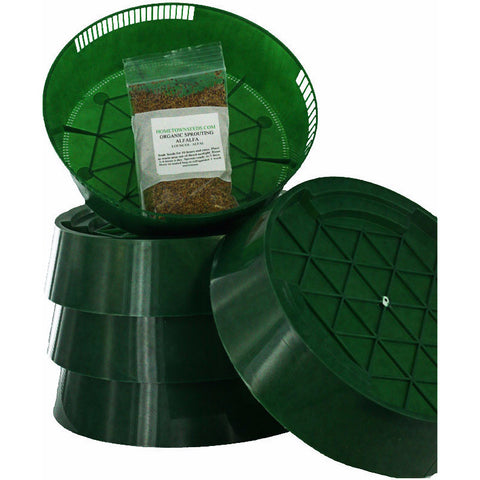 3-Tray Stackable Sprout Garden (large volumes)