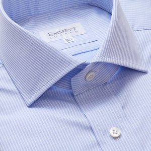 Raised Light Blue Stripe Shirt