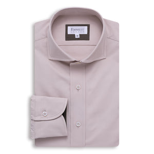 Beige Heavy Casual Shirt - Emmett London - Jermyn Street & Kings Road Shirtmakers