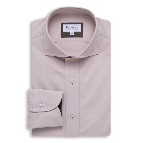 Beige Heavy Casual Shirt