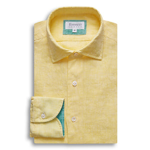 Yellow Linen Shirt