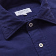 Dark Blue Cord Shirt