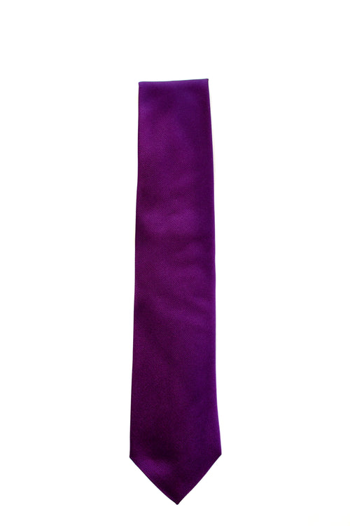 Hungarian Purple Twill Tie