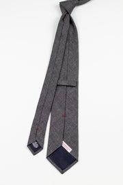 Whisper Of A Shadow Tie - Emmett London - Jermyn Street & Kings Road Shirtmakers