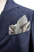 Neon Countryside Pocket Square - Emmett London - Jermyn Street & Kings Road Shirtmakers