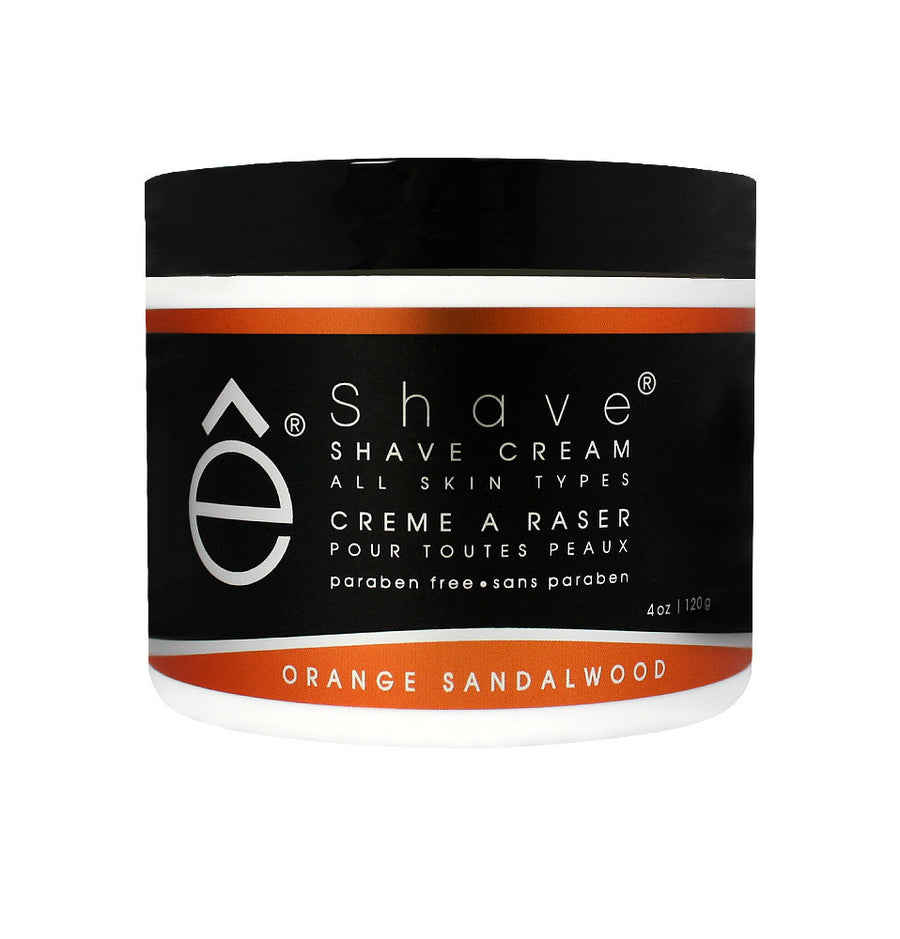 eShave Shaving Cream 120g -Orange Sandalwood