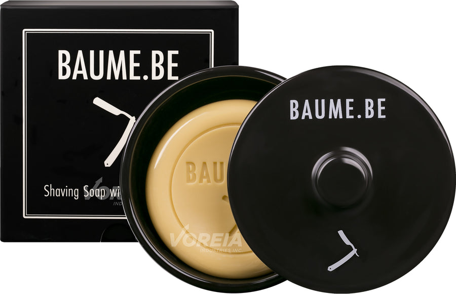 BAUME.BE - Shaving Soap in Ceramic Container