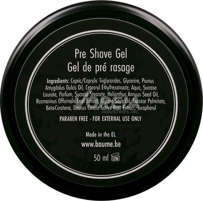BAUME.BE - Pre Shave Gel 50 ml