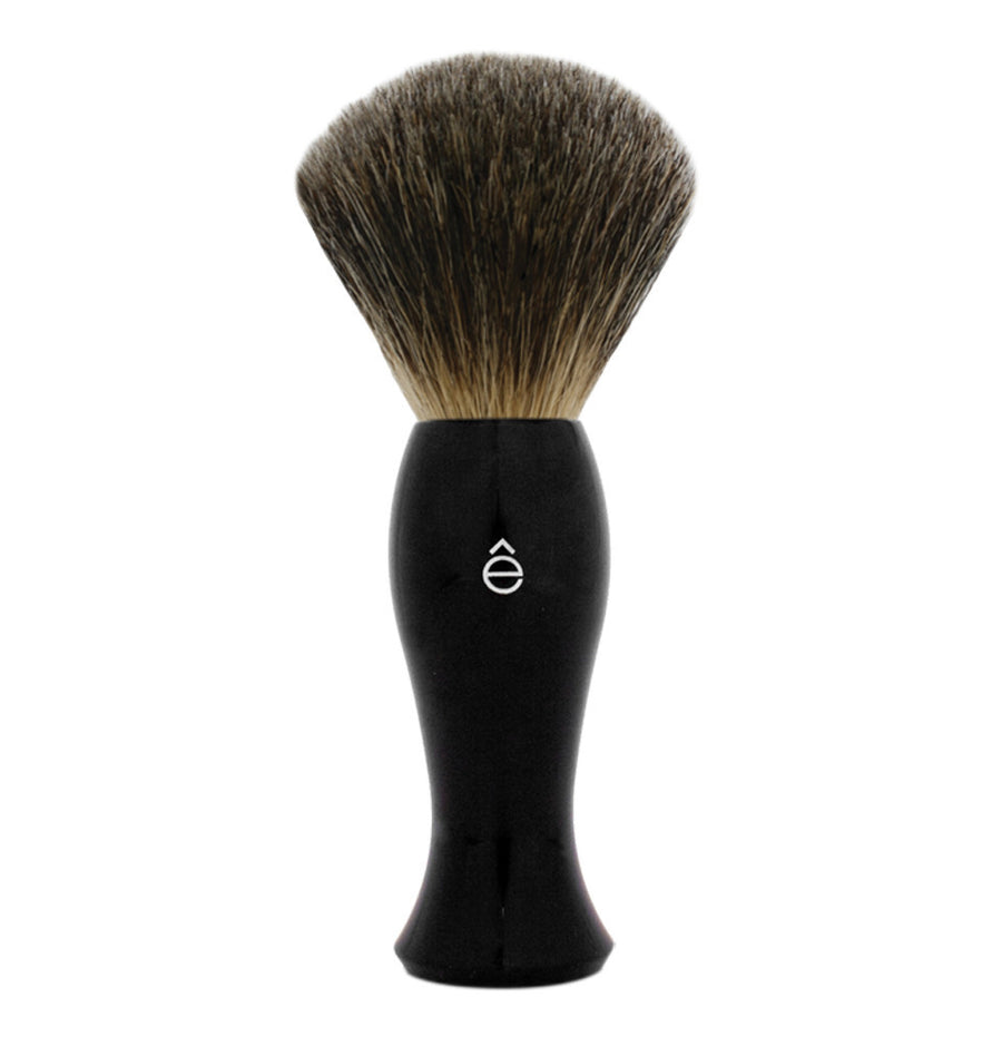 eShave Shave Brush Black - Fine Badger