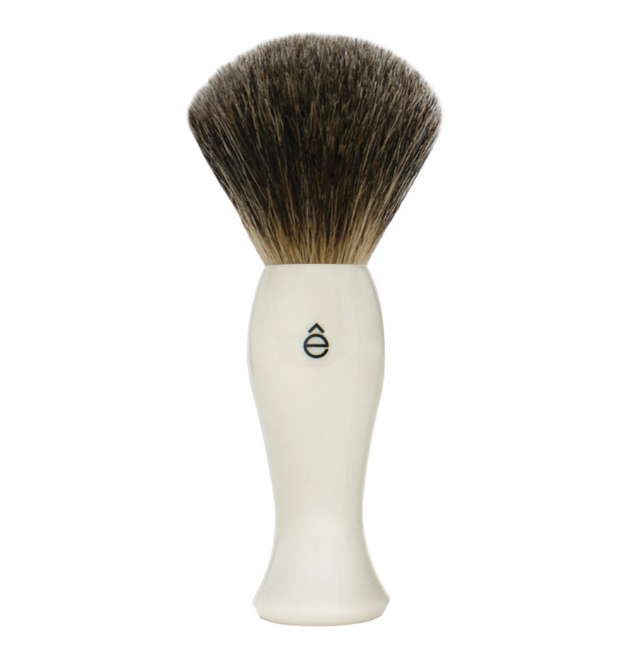 eShave Shave Brush White - Fine Badger