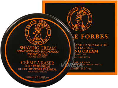 CF Shaving Cream 200ml - Cedar & Sandalwood