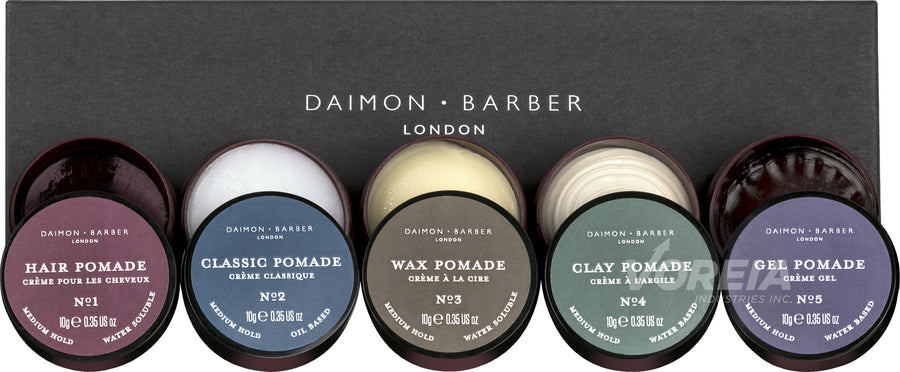 Daimon Barber Pomade Sample Box 10g x 5