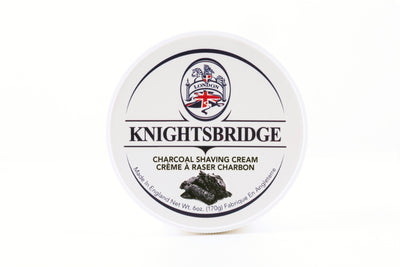 Knightsbridge Shaving Cream 170g - Charcoal